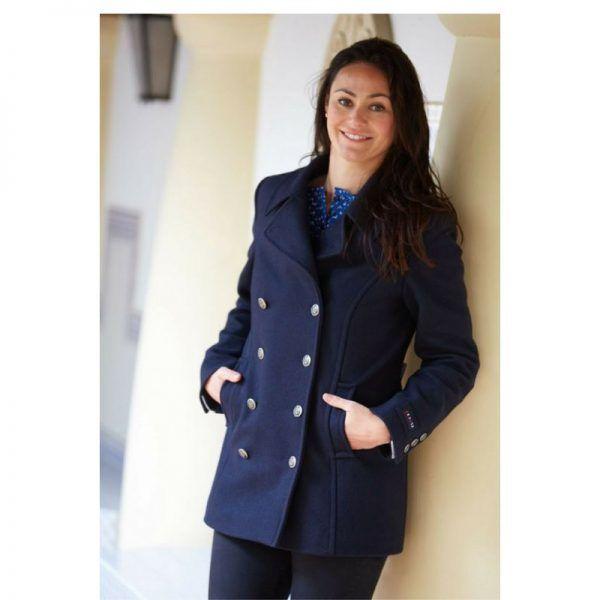 urzelai batela chaqueton abrigo mujer a2590 marino