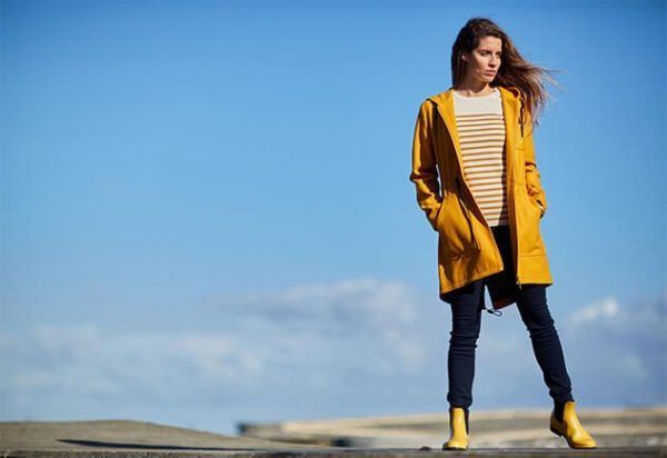 batela ropa abrigo chaqueta amarillo1