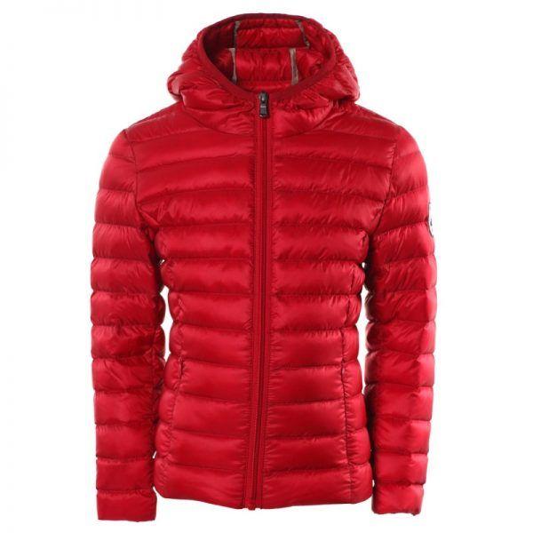 chaqueta plumifero jott niña rojo