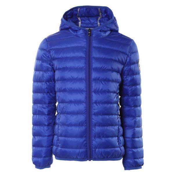 chaqueta plumifero jott niño azul real