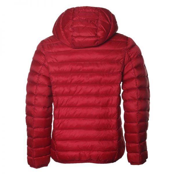chaqueta plumifero jott niño rojo1